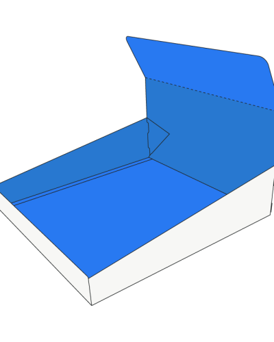Custom Double Wall with Display Lid