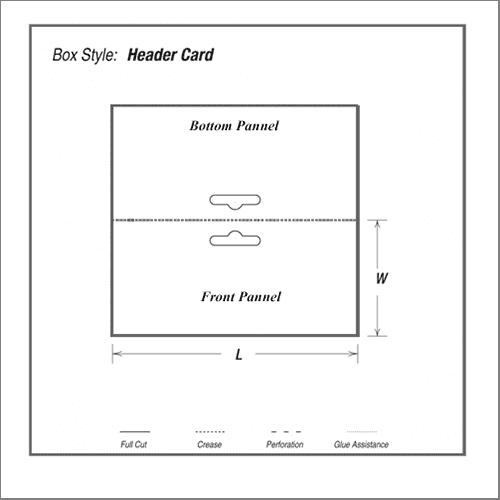 Header Card Printing