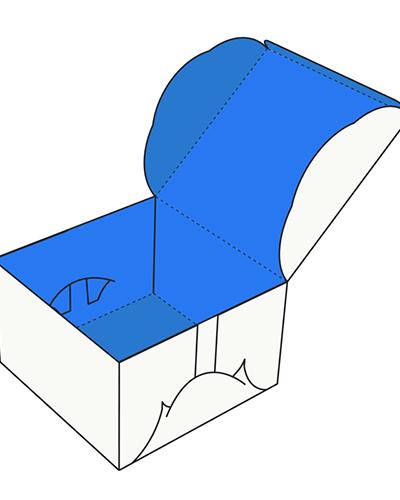 Custom Self-Lock Cake Box